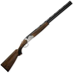 """Beretta 686 Silver Pigeon I Sporting Over/Under Shotgun 12 Gauge 32"""" Barrel 3"""" Chamber Checkered Walnut Stock Blued Finish with Floral Engraved Receiver"""