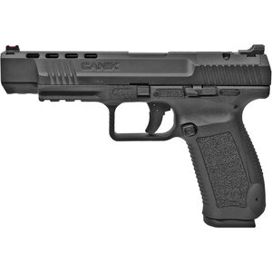 "Century Arms Canik TP9SFx 9mm Luger Semi Auto Pistol 5.2"" Barrel 20 Rounds Fiber Optic Front Sight Black Polymer Frame Black Finish"