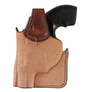 "Bianchi Pocket Piece 152 S&W 2"" J Frame Pocket Holster Right Hand Leather Tan"