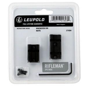 Leupold Rifleman 2-Piece Scope Base Winchester XPR Aluminum Black