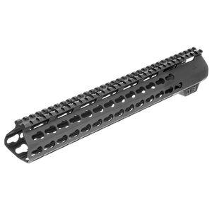 """Aim Sports LR-308 13.5"""" Low Profile .308 Keymod Handguard Aluminum Black MTK13L308"""