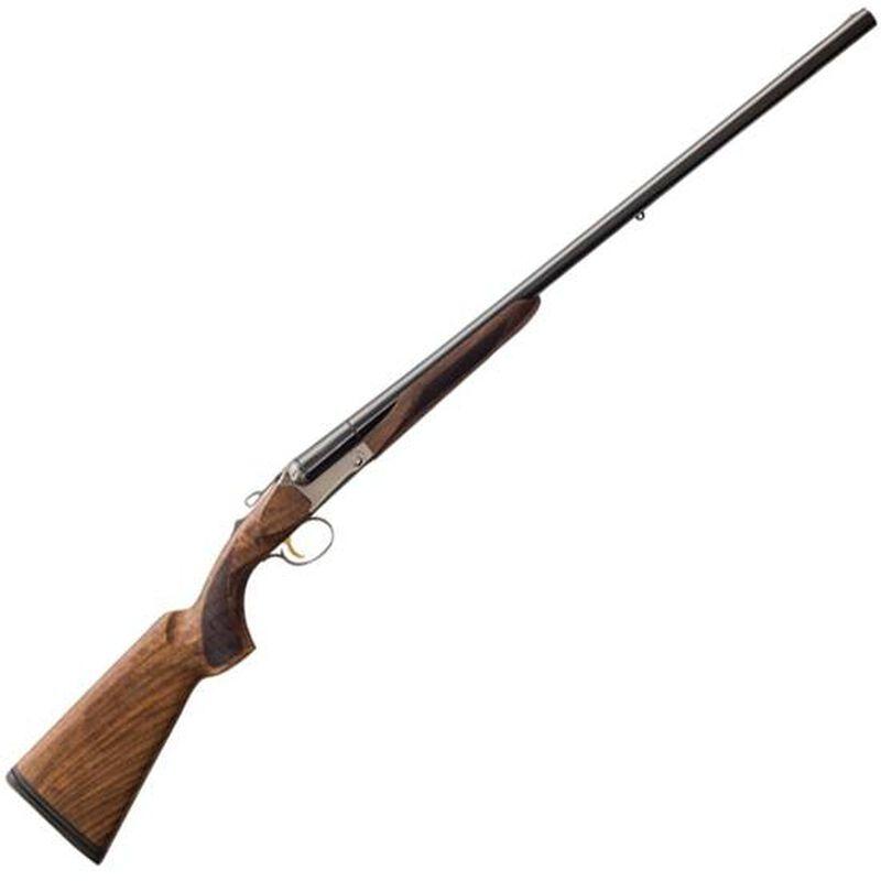 """Charles Daly 520 Field 20 Gauge SxS Break Action Shotgun 26"""" Barrels 3"""" Chambers 2 Rounds Extractors Walnut Stock Matte Blued"""