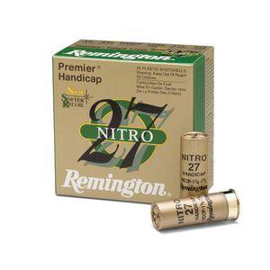 "Remington Nitro 27 12 Gauge Ammunition 250 Rounds 2.75"" #8 Lead 1.125 Ounce STS12NH8"