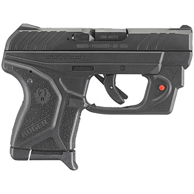 "Ruger LCP II with Laser Semi Auto Pistol .380 ACP 2.75"" Barrel 6 Rounds Integral Sights Red Laser Polymer Frame Steel Slide Black"