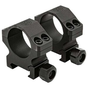 "SIG Sauer Alpha 1 Tactical Two Piece Scope Mount 1"" Tube Diameter Extra High Height 6061-T6 Aluminum Matte Black"