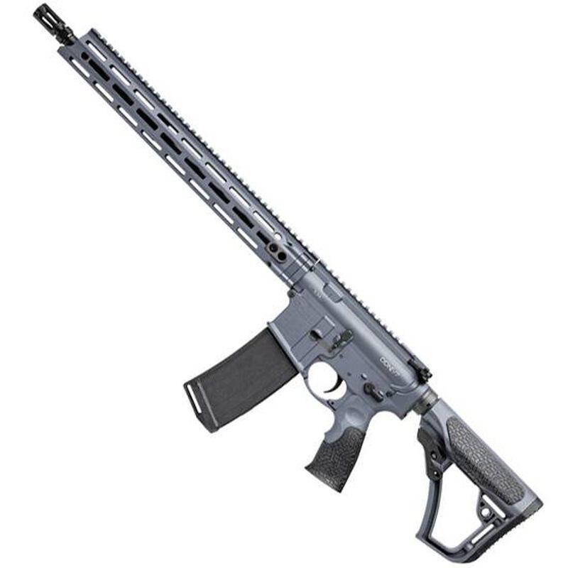 "Daniel Defense M4 V7 AR-15 Semi Auto Rifle 5.56 NATO 16"" Barrel 32 Rounds 15"" M-LOK Handguard Collapsible Stock Cerakote Tornado Grey"