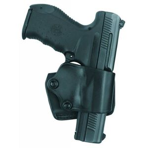 Gould & Goodrich Gold Line Yaqui Belt Slide Holster Right Hand Fits Ruger P Series Leather Black