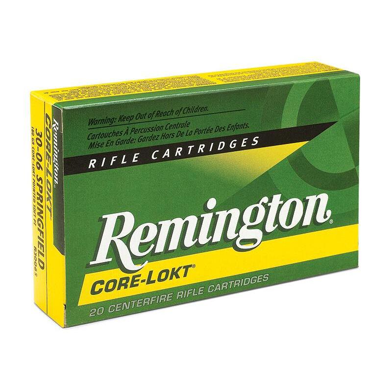 Remington Express .338 Remington Ultra Magnum Ammunition 20 Rounds 250 Grain Core-Lokt PSP Soft Point Projectile 2860fps