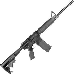"Armalite Eagle-15 AR-15 5.56 NATO Semi Auto Rifle 16"" Barrel 30 Rounds A2 Front Sight Collapsible Stock Black"