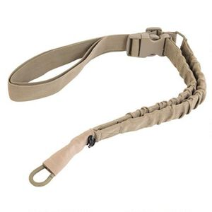 Caldwell Single Point Tactical Sling Heavy Duty Bungee FDE 390662