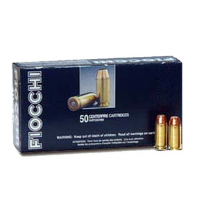 Fiocchi Shooting Dynamics .357 SIG Ammunition 50 Rounds 124 Grain Full Metal Jacket 1350fps