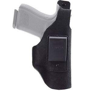 """Galco Waistband IWB Holster fits 1911 with 5"""" Barrel and Clones Right Hand Leather Black"""
