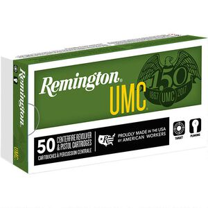 Remington UMC 10mm Auto Ammunition 500 Rounds FMJ 180 Grains L10MM6