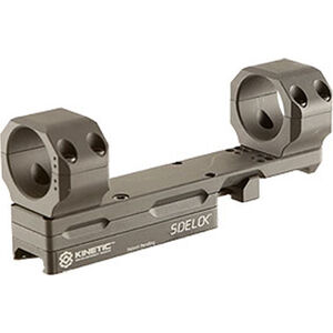 KDG Sidelok Modular Optic Mount 30mm Rings AR Style Adjustable Cantilever Scope Mount Aluminum Black