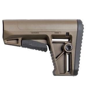 KRISS Defiance AR-15 DS150 Stock Mil-Spec Adjustable Polymer Flat Dark Earth
