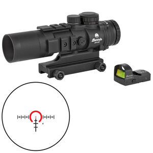 Burris AR-332 Combo Package 3x32mm Prism Sight Ballistic 3X Reticle With FastFire III Reflex Red Dot Sight 3 MOA/Picatinny Rail Mount Matte Black