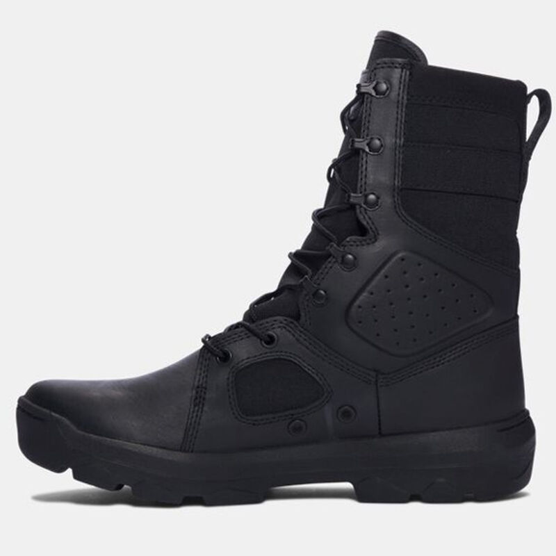 "Under Armour Performance UA FNP Men's 9"" Tactical Boot Synthetic/Textile/Rubber Size 14 Black"