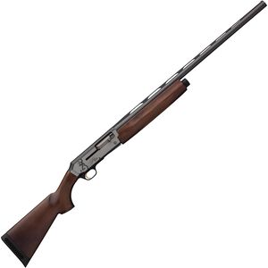"Browning Silver Hunter Matte 12 Gauge Semi Auto Shotgun 26"" Barrel 3"" Chamber 4 Rounds Walnut Stock Bi-Tone Silver/Matte Balck"