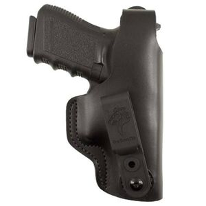 DeSantis Gunhide Dual Carry II IWB/OWB Holster Fits GLOCK 19/23/32/36 and SIG P228/P229 Pistols Right Hand Draw Leather Black