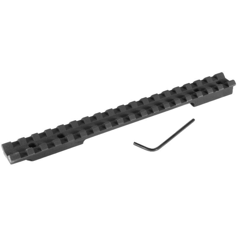 EGW Savage Flat Back Long Action Picatinny Rail Scope Mount 0 MOA Aluminum Matte Black