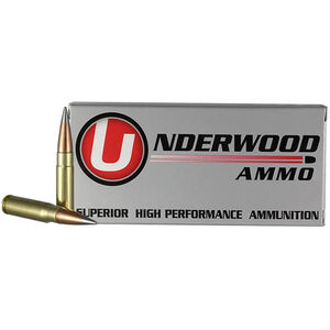 Underwood Ammo .300 AAC Blackout Ammunition 20 Round Box 111 Grain Match Solid Flash Tip Projectile 2360 fps