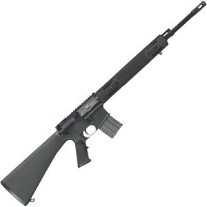 "Bushmaster Hunting AR-15 Semi Auto Rifle .450 BM 20"" Barrel 5 Rounds Vented Aluminum Handguard Fixed Stock Black"