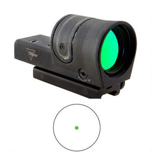 Trijicon 42mm Reflex 6.5 MOA Green Dot Reticle TA51 Flattop Mount 800113