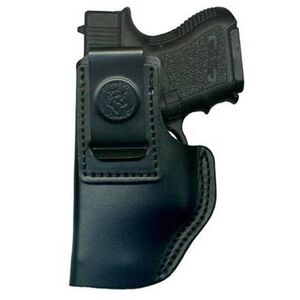 DeSantis Insider IWB Holster Ruger LCP 380 Left Hand Leather Black 031BBR7Z0