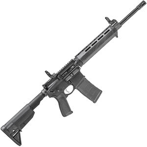 "Springfield Armory SAINT AR-15 5.56 Semi Auto Rifle 16"" Barrel 30 Rounds Picatiny Gas Block with Sights Black"