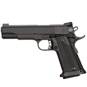 "Rock Island Armory Rock Ultra Full Size 1911 Semi Auto Handgun 10mm Auto 5"" Barrel 16 Rounds Parkerized Steel Frame G10 Grips Black"