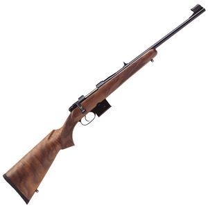 "CZ USA 527 Carbine 7.62x39 Bolt Action Rifle 18.5"" Barrel 5 Round Detachable Box Magazine Fixed Sights Carbine Style Turkish Walnut Stock Blued Finish"