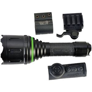 AimSHOT Green LED Weapon Light Adjustable Beam 2x