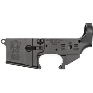 Spikes Tactical AR-15 PHU Joker Stripped Lower Receiver 5.56 NATO Marked Multi Caliber Aluminum Anodized Black