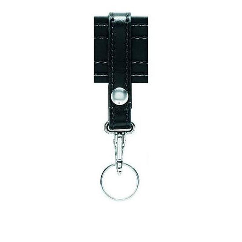 Safariland Model 169S Key Ring Snap Holder Brass Snap Plain Black