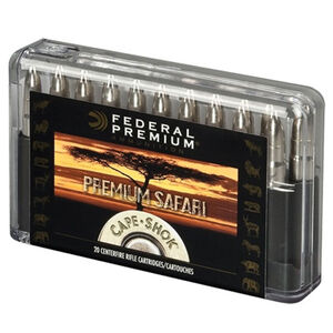 Federal CapeShok 9.3x62 Mauser 286 Grain WH 20 Rnd Box
