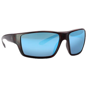 Magpul Terrain Eyewear Bronze/Blue Mirror Polycarbonate Lens Z87+ and MIL-PRF 32432 Rated TR90NZZ Frame Tortoise