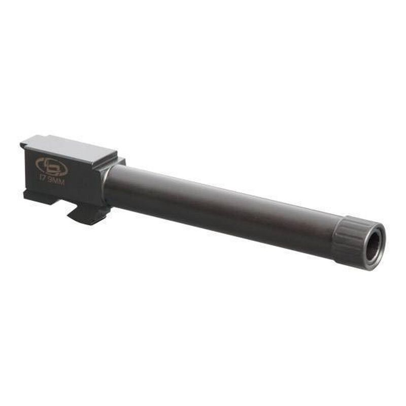 """StormLake For GLOCK 17 9mm 5.19"""" Match Threaded Stainless Black 34003"""