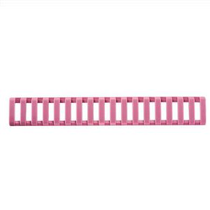 ERGO Low Profile Picatinny Ladder Rail Cover 18 Slot Santoprene 3 Pack Pink 4373-3PK-PK