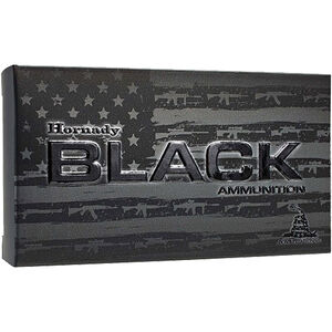 Hornady BLACK 5.45x39mm Ammunition 20 Rounds 60 Grain Polymer Tipped V-MAX 2810fps