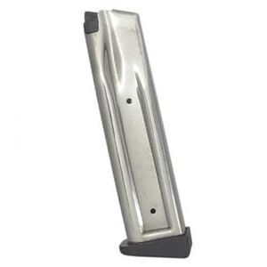 Metro Arms SPS Pantera & Vista Double Stack Magazine .38 Super/9mm Luger 21 Rounds Steel Stainless Finish M14038