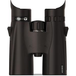 Steiner HX1042 Binoculars 10x42mm High Precision Roof Prism Makrolon Housing NBR Rubber Armor Black