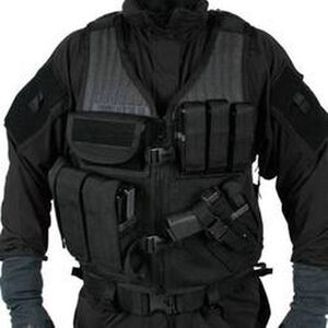 BLACKHAWK! Omega Elite Crossdraw Vest Right Hand Black