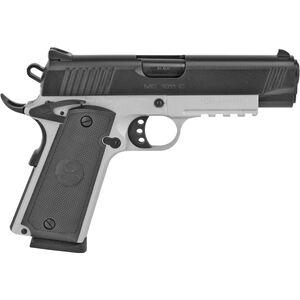 "EAA GiRSAN MC1911C .45 ACP 1911 Semi Auto Pistol 4.4"" Barrel 8 Rounds Commander Profile Novak Style Rear Sight Steel Frame Two Tone Finish"