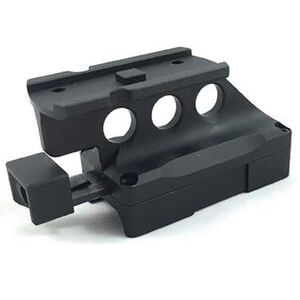 Kinetic Development Group Kinect SIDELOK Aimpoint T1/H1 Lower 1/3 Co-Witness Universal Offset Mount Aluminum Anodized Matte Black