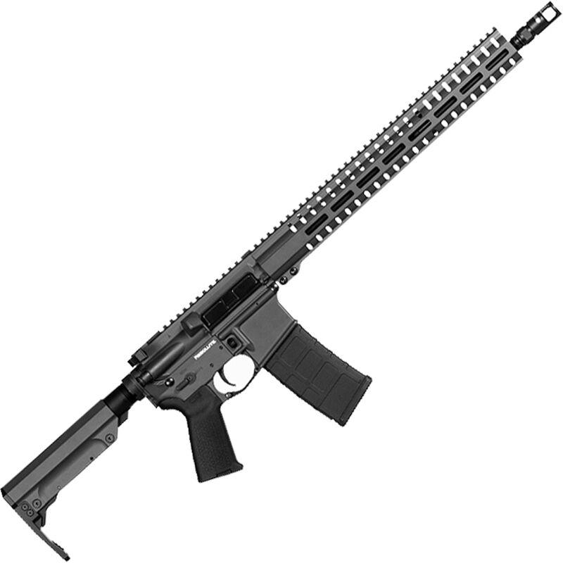 "CMMG Resolute 300 Mk4 5.56 NATO AR-15 Semi Auto Rifle 16"" Barrel 30 Rounds RML15 M-LOK Handguard RipStock Collapsible Stock Sniper Gray Finish"