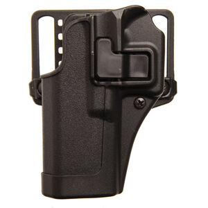 BLACKHAWK! SERPA CQC Concealment Belt/Paddle Holster HK VP9/VP40 Left Hand Polymer Matte Black