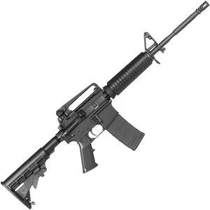 "Bushmaster XM-15 M4A3 Patrolman's Carbine 5.56 NATO AR-15 Semi Auto Rifle 16"" Barrel 30 Rounds Standard Handguard Collapsible Stock 3 Magazines Black Finish"