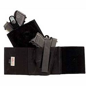 Galco Cop Ankle Band Holster Medium Right Hand Black  CAB2M