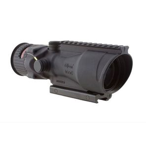 Trijicon ACOG TA648-50 6x48mm Scope Red Chevron Reticle Fiber Optics and Tritium Illumination Matte Black