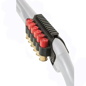 TacStar Rail Mount w/ SideSaddle Shotshell Carrier For 12-Gauge Remington 870/1100/11-87, 6 Rounds